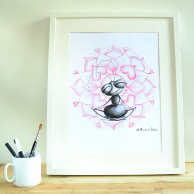 print yoga loto