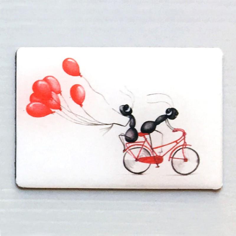 magnet globo bici