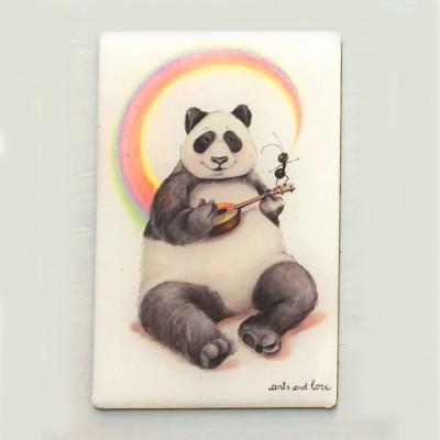 imán panda uke