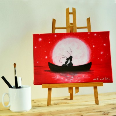 cuadro canoa