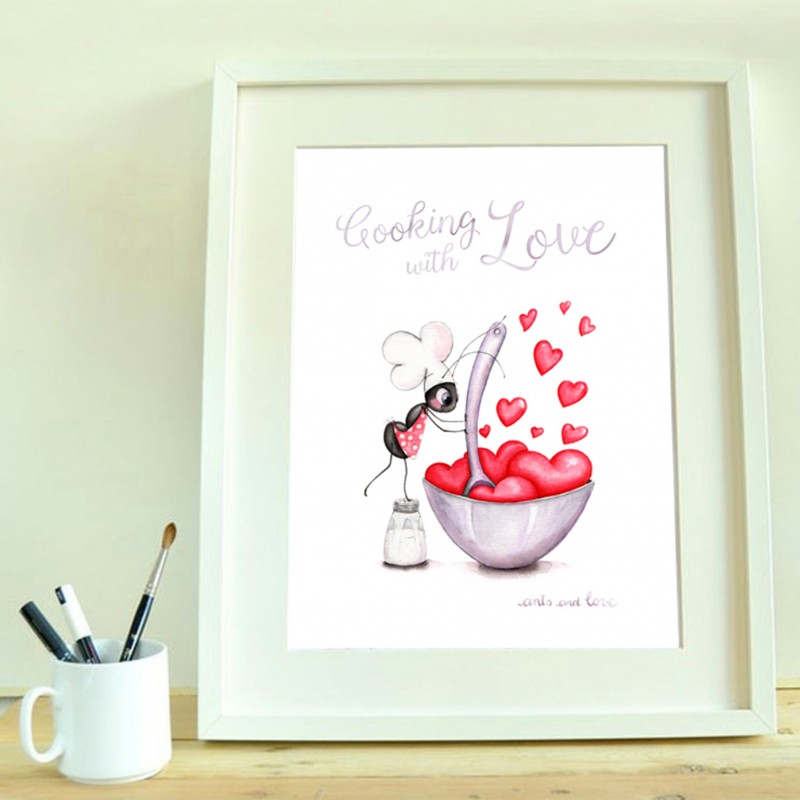 print cooking with love