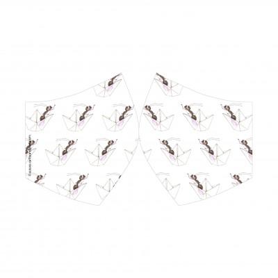 mascarilla barquitos blanco