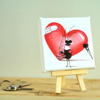 cuadro hormiga enfermera