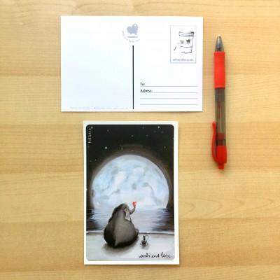postcard ele noche