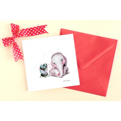 Greeting card ele bebe