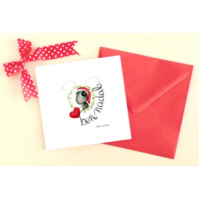 Greeting card Bon Nadal